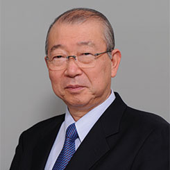 名誉顧問 保阪善昭先生